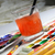 art palette and watercolors stock photo © tannjuska