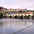 remo · barcos · castillo · puente · agua · hierba - foto stock © tannjuska