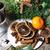 belle · Noël · couronne · décorations · maison · heureux - photo stock © tannjuska