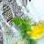 olijfolie · azijn · basilicum · mooie · kristal · flessen - stockfoto © tannjuska