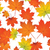 Seamless pattern with colorful maple leaves stock photo © tanya_ivanchuk