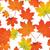 colorido · bordo · folhas · ilustração · vermelho - foto stock © tanya_ivanchuk