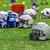 american football helmet on the field stock photo © tarczas