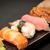 sashimi · sushis · alimentaire · poissons - photo stock © tarczas