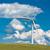 turbina · eolica · farm · rurale · terreno · blu · industriali - foto d'archivio © tarczas