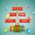 árvore · de · natal · estilizado · contorno · árvore - foto stock © tarikvision