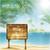 szörfözik · grunge · sziluett · szörfös · pálmafa · fa - stock fotó © tarikvision