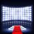 illuminated podium for ceremony with red carpet stock photo © tarikvision