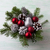 Рождества · красный · украшения · серебро · соснового · таблице - Сток-фото © tasipas