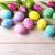 renkli · easter · egg · el · boyalı · boya · yumurta - stok fotoğraf © tasipas
