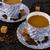 dois · chocolate · pó · grãos · de · café · colheres · branco - foto stock © tasipas