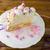 birthday meringue cake on the cake stand stock photo © tasipas