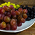 Bunch of white red and dark grapes stock photo © TasiPas