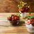 ripe strawberry and summer layered cream cheese dessert stock photo © tasipas
