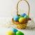 arte · easter · eggs · fiori · di · primavera · legno · blu - foto d'archivio © tasipas