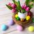 Пасху · таблице · яйца · гнезда · пастельный - Сток-фото © TasiPas
