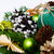 Navidad · corona · árbol · de · navidad · árbol · resumen - foto stock © tasipas