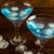 blue lagoon cocktail close up stock photo © tasipas