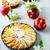 manzana · muffin · frutas · blanco · placa - foto stock © tasipas