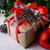 zilver · bal · ingericht · lint · christmas · nieuwjaar - stockfoto © tasipas