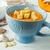 taze · vejetaryen · çorba · beyaz · çanak · mavi - stok fotoğraf © tasipas