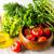 groene · knoflook · bos · houten · textuur · keuken - stockfoto © tasipas