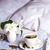 спальня · пару · цветы · Sweet · оказанный · девушки - Сток-фото © tasipas