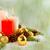 natal · vermelho · dourado · bola · enforcamento - foto stock © tasipas