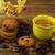 xícara · de · café · biscoito · branco · café · da · manhã · copo · doce - foto stock © tasipas