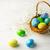 decorato · easter · eggs · basket · piccolo · bianco · respiro - foto d'archivio © TasiPas