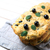 Italian bread focaccia with olive, garlic and herbs stock photo © TasiPas