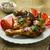 poulet · ailes · jambes · pièces · tomate - photo stock © tasipas