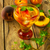 iced green tea with peaches stock photo © tasipas