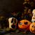 donkere · rustiek · halloween · symbool · brand - stockfoto © tasipas