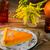 abóbora · bolo · de · queijo · torta · fatia · caseiro · chantilly - foto stock © tasipas