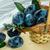 rijp · pruimen · bladeren · voedsel · vruchten · witte - stockfoto © tasipas