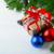 piros · kék · sápadt · ezüst · karácsony · díszek - stock fotó © tasipas