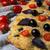 italian bread focaccia with olive basil and cherry tomato stock photo © tasipas