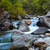 cascade waterfalls of the mountain river stock photo © tasipas