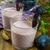 plum prune smoothies yogurt stock photo © tasipas