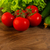 friss · organikus · koktélparadicsom · fa · asztal · stílus · rusztikus - stock fotó © tasipas