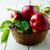 яблоки · корзины · таблице · красный - Сток-фото © tasipas