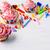 minitorták · rózsaszín · tejszínhab · örvény · copy · space · születésnap - stock fotó © tasipas