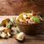樺 · ヤマドリタケ属の食菌 · 森林 · 秋 · 緑 · 工場 - ストックフォト © tasipas
