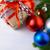 karácsony · díszek · ág · arany · fenyőfa · kúp - stock fotó © tasipas