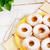 tatlı · çörek · yalıtılmış · beyaz · kahvaltı · yağ - stok fotoğraf © tasipas