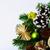 kerstboom · stro · sterren · pine · christmas - stockfoto © tasipas