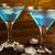 коктейль · синий · темно · сторон · праздников · воды - Сток-фото © tasipas