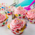 pink cupcakes and cookware stock photo © tasipas