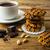 チョコレート · チップ · クッキー · ピーナッツ · 孤立した · 白 - ストックフォト © tasipas